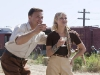 Christoph Waltz и Reese Witherspoon в фильме Воды слонам (Water for Elephants)