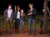 Jesse Eisenberg, Abigail Breslin, Emma Stone и Woody Harrelson