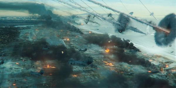 Красочный рекламный ролик армии США: «Инопланетное вторжение: битва за Лос-Анджелес»