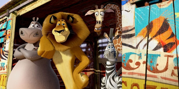 2012 год. Цирк. На сцене те же и тигр Виталий: «Мадагаскар 3»